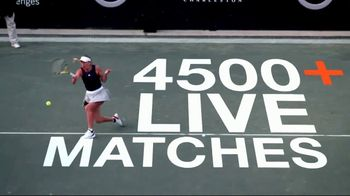 Tennis Channel Plus TV Spot, 'Over 4500 Live Matches' - Thumbnail 2