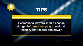 Tennis Industry Association TV Spot, 'Tips: Restring Racquets' Feat. Taylor Fritz, Marin Cilic - Thumbnail 7