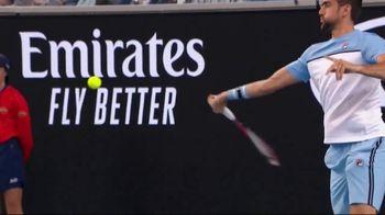 Tennis Industry Association TV Spot, 'Tips: Restring Racquets' Feat. Taylor Fritz, Marin Cilic
