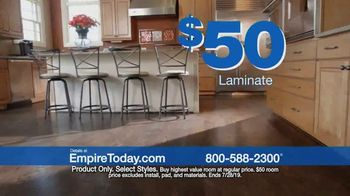Empire Today $50 Room Sale TV Spot, 'Transform Your Entire Home for Less' - Thumbnail 3