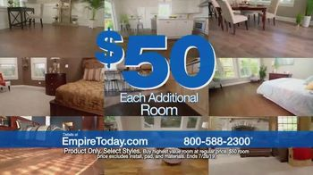 Empire Today $50 Room Sale TV Spot, 'Transform Your Entire Home for Less' - Thumbnail 5
