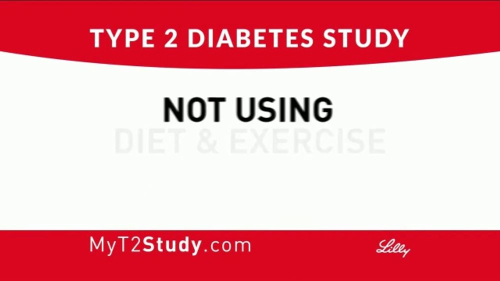 Eli Lilly TV Commercial, 'Type 2 Diabetes Study'