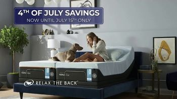 Relax the Back July 4th Event TV Spot, 'Tempur-Pedic Mattresses' - Thumbnail 1