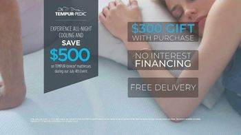Relax the Back July 4th Event TV Spot, 'Tempur-Pedic Mattresses' - Thumbnail 6