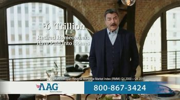 AAG Reverse Mortgage TV Spot, \'Why Not Use It\' Featuring Tom Selleck