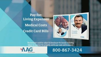 AAG Reverse Mortgage TV Spot, 'Why Not Use It' Featuring Tom Selleck - Thumbnail 6