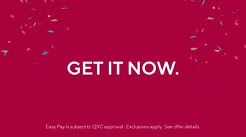 QVC Easy Pay TV Spot, 'Get It Now'