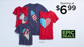 Kohl's Not Your Everyday Sale TV Spot, 'Epic Deals: Tees, Swimwear and Flip Flops' - Thumbnail 4