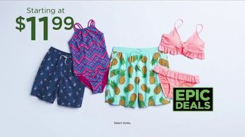 Kohl's Not Your Everyday Sale TV Spot, 'Epic Deals: Tees, Swimwear and Flip Flops' - Thumbnail 5