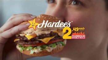 Hardee's Charbroiled Double Deals TV Spot, 'Double Flip' - Thumbnail 10