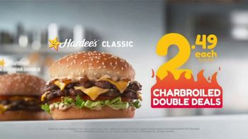 Hardee's Charbroiled Double Deals TV Spot, 'Double Flip' - Thumbnail 5