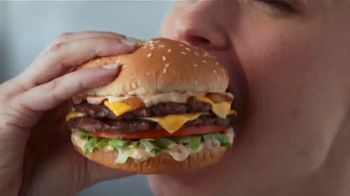 Hardee's Charbroiled Double Deals TV Spot, 'Double Flip'