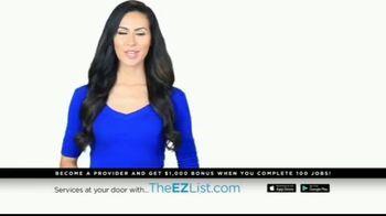 The EZ List TV Spot, 'Offer a Service' - Thumbnail 1
