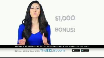 The EZ List TV Spot, 'Offer a Service' - Thumbnail 10