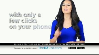 The EZ List TV Spot, 'Offer a Service' - Thumbnail 3