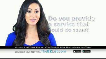 The EZ List TV Spot, 'Offer a Service' - Thumbnail 4