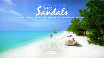Sandals Resorts TV Spot, 'What a Vacation Is' - Thumbnail 10