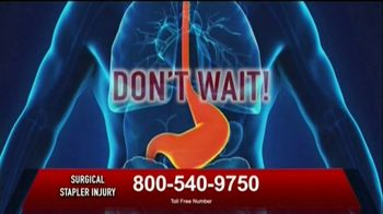 Surgical Staplers Helpline TV Spot, 'FDA Announcement' - Thumbnail 8