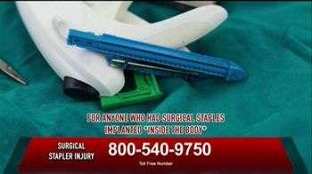 Surgical Staplers Helpline TV Spot, 'FDA Announcement' - Thumbnail 1