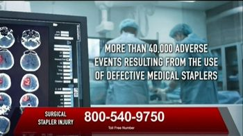 Surgical Staplers Helpline TV Spot, 'FDA Announcement' - Thumbnail 3