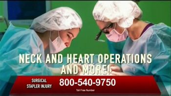 Surgical Staplers Helpline TV Spot, 'FDA Announcement' - Thumbnail 5