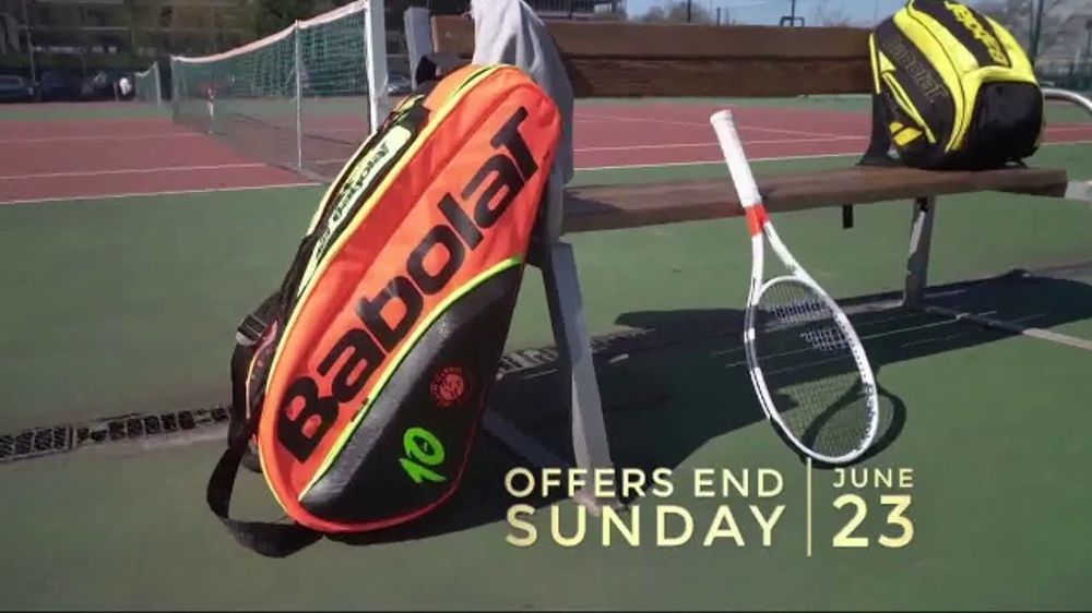 Tennis Warehouse Babolat Week TV Commercial, 'Best Deals of the Year'