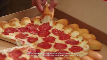 Pizza Hut Cheesy Bites Pizza TV Spot, 'Back for a Limited Time' - Thumbnail 4