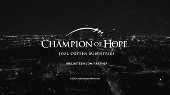 Joel Osteen TV Spot, 'Champion of Hope' - Thumbnail 9