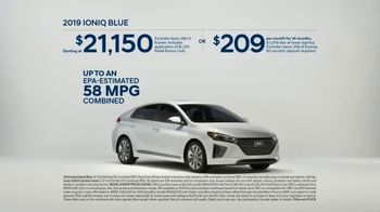 Hyundai 4th of July Sales Event TV Spot, 'Ioniq Blue: Keeps the Cost Low' [T2] - Thumbnail 10