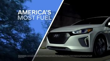 Hyundai 4th of July Sales Event TV Spot, 'Ioniq Blue: Keeps the Cost Low' [T2] - Thumbnail 3