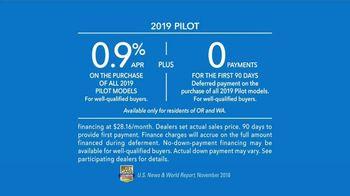 2019 Honda Pilot TV Spot, 'Family Adventures' [T2] - Thumbnail 9