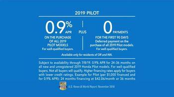 2019 Honda Pilot TV Spot, 'Family Adventures' [T2] - Thumbnail 8