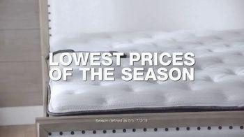 Macy's July 4th Furniture & Mattress Sale TV Spot, 'Sofas, Dining Sets & Adjustable Bases'