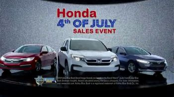 Honda 4th of July Sales Event TV Spot, 'Life's Best Adventures' [T2] - Thumbnail 7