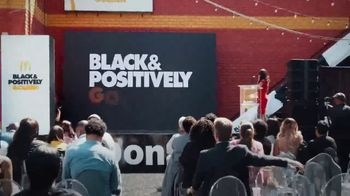 McDonald's Black & Positively Golden TV Spot, 'Never Scrambled' Song by Moses Stone - Thumbnail 5