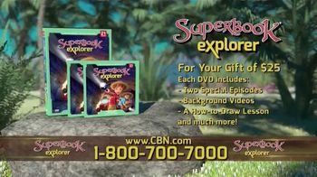 Superbook Explorer TV Spot, 'A Path Back' - Thumbnail 7