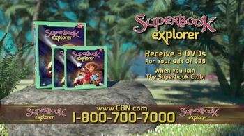 Superbook Explorer TV Spot, 'A Path Back' - Thumbnail 8