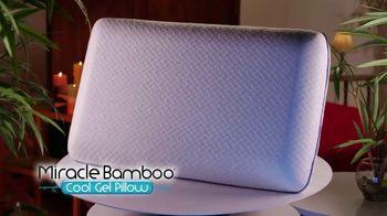Miracle Bamboo Cool Gel Pillow TV Spot, 'Revolutionary Gel-Infused Memory Foam' - Thumbnail 2
