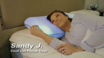 Miracle Bamboo Cool Gel Pillow TV Spot, 'Revolutionary Gel-Infused Memory Foam'