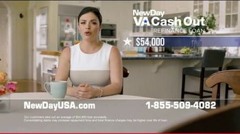 NewDay USA VA Cash Out Refinance Loan TV Spot, 'For Your Family' - 24 commercial airings