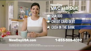 NewDay USA VA Cash Out Refinance Loan TV Spot, 'For Your Family' - Thumbnail 4