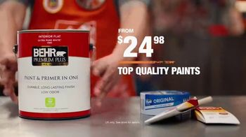The Home Depot TV Spot, 'A Colorful New Experience: BEHR Premium Plus' - Thumbnail 10