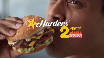 Hardee's Charbroiled Double Deals TV Spot, 'Is This Real' - Thumbnail 7