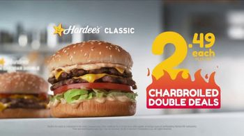 Hardee's Charbroiled Double Deals TV Spot, 'Is This Real' - Thumbnail 3