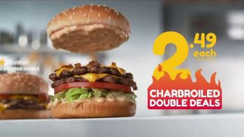 Hardee's Charbroiled Double Deals TV Spot, 'Is This Real' - Thumbnail 5