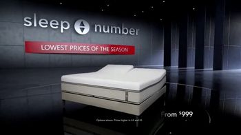 Sleep Number Lowest Prices of the Season TV Spot, 'Hit the Ground Running: Zero Percent Interest'