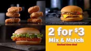 McDonald's 2 for $3 Mix and Match TV Spot, 'Break the Routine' - Thumbnail 9