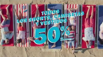Old Navy TV Spot, 'Prepárate para el verano: los shorts, camisetas y vestidos' [Spanish]