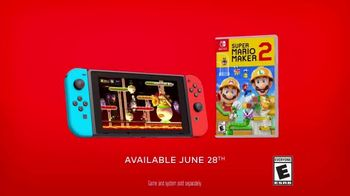 Nintendo Switch TV Spot, 'Super Mario Maker 2: Make It Your Way. Play It Your Way.' - Thumbnail 10