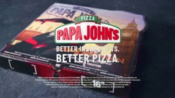 Papa John's XL Two Topping Superhero Pizza TV Spot, 'Spider-Man: Feed Your Hunger' - Thumbnail 9